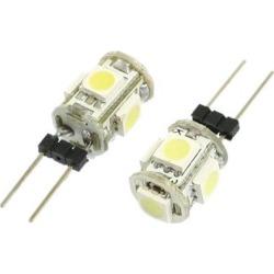 Unique Bargains Unique Bargains 2 Pcs Bi-pin G4 White 5050 SMD 5-LED Bulb Light Lamp Replacement