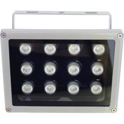 AUTENS IR Illuminator, 850nm 12-Led Wide Angle IP67 Waterproof Night Vision IR Infrared Light for IP Camera CCTV Analogue Security Surveillance Camera