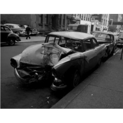 Posterazzi SAL255422253 Wrecked Car on Street Poster Print - 18 x 24 in. found on Bargain Bro Philippines from Newegg Canada for $53.76