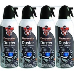 Dust-Off DPSXL4A 10oz Electronics Dusters, 4 pk