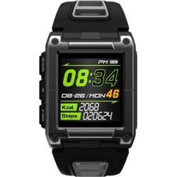 Professional Swimming Sport Smart Watch IP68 Waterproof Fitness Activity Tracker Monitor Heart Rate Monitor Wristwatch gray