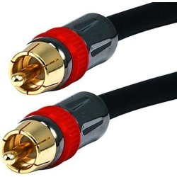 Monoprice 35ft High-quality Coaxial Audio/Video RCA CL2 Rated Cable - RG6/U 75ohm (for S/PDIF, Digital Coax, Subwoofer &