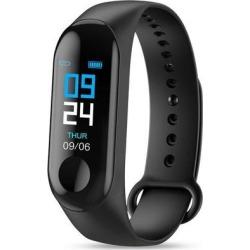 M3 Smartband Fitness Tracker Smart Bracelet Blood Pressure Heart Rate Monitor Waterproof Smart Band black