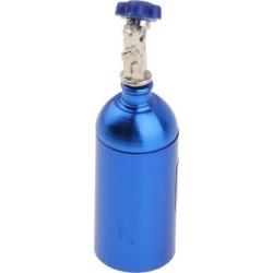 Alloy Simulation Nos Bottle Decorative Accessories For 1/10 RC Cars Blue