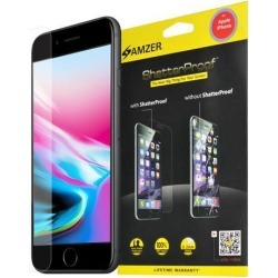 Amzer ShatterProof Screen Protector - Front Coverage for iPhone 8