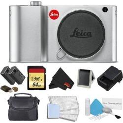 Leica TL2 Mirrorless Digital Camera (Silver) Memory Kit