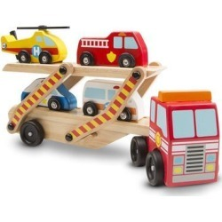 Emergency Vehicle Carrier - Vehicle Toy by Melissa & Doug (4610)