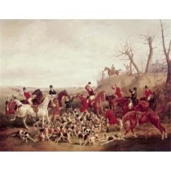 Posterazzi SAL900124592 The Kill 1830 Henry Thomas Alken 1785-1851 British Poster Print - 18 x 24 in.
