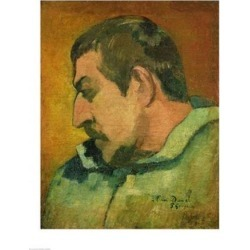 Posterazzi BALXIR206441LARGE Self Portrait 1896 Poster Print by Paul Gauguin - 24 x 36 in. - Large