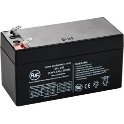 Survival Technologies EMS-BP 711 Blood Pressure Monitor 12V 1.3Ah Medical Battery - This is an AJC Brand Replacement