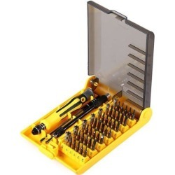 45 in 1 Screwdriver Set Tool Tweezers Multifunction Repair PC Mobile Electronics