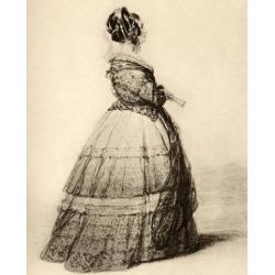 Posterazzi DPI1857007 Victoria Duchess of Kent & Strathearn 1786-1861 Mother of Queen Victoria Poster Print, 13 x 16