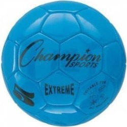 Champion Sports Extreme Series Size 3 Composite Blue Soccer Ball