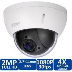 Dahua Original SD22204T-GN IP Network Camera English Firmware Full HD 2MP 4x Zoom Mini PTZ Dome Camera CCTV PoE WDR 2.7mm~11mm IK10 IP66 Tripwire,