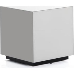 SONOROUS STB-45 All Glass Cube Side Table / Night Stand