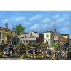 Posterazzi SAL900807826 Covent Garden Market by Unknown Artist Poster Print - 18 x 24 in.