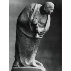 Posterazzi SAL995103263 The Solitary Ernst Barlach 1870-1938 German Poster Print - 18 x 24 in. found on Bargain Bro India from Newegg Canada for $55.18