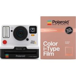 Polaroid Originals 9008 OneStep 2 VF Instant Camera (White) and Rose Gold Film