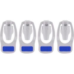 Blue Water Cooler Faucet Plastic Water Dispenser Clean Spigot Fits Adaptor Hot Cold Water Faucet Tap Replacement 4pcs
