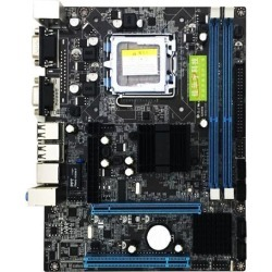 Mining motherboard G41 Desktop Computer Motherboard LGA 775 DDR3 Support Dual Core Quad Core CPU,2x DDR3 DIMM, DDR3 1066 / 1333MHz found on Bargain Bro India from Newegg Canada for $46.46