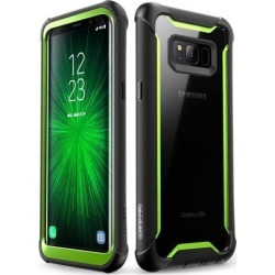 Supcase Case for Galaxy S8 - Black/Green