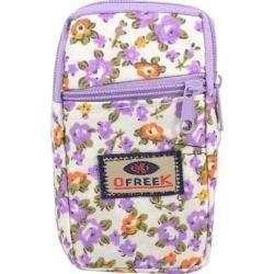 Unique Bargains Lavender Zipper Closure 2-compartment Mobile Phone Wrist Bag Pouch