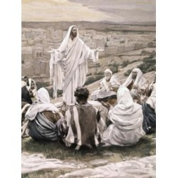 Posterazzi SAL9999167 The Lords Prayer James Tissot 1836-1902 French Poster Print - 18 x 24 in.