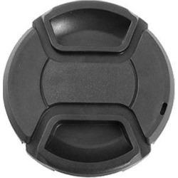 Unique Bargains Black Plastic 52mm Front Lens Cap Protector for Camera