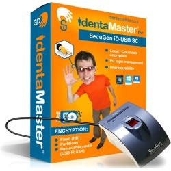 Biometric Security Software with SecuGen Hamster Pro iD-USB SC with Card Reader