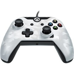 PDP Wired Controller For Xbox One & PC - White Camo