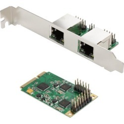 SYBA SI-MPE24046 Mini PCI-Express 2-Port Gigabit Ethernet Card