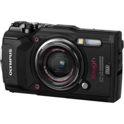 Olympus Tough TG-5, 12 Megapixel, Waterproof, Wide Angle, Compact Camera, Black (V104190BU000)