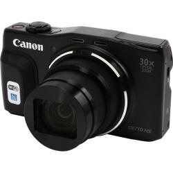 Canon PowerShot SX710 HS Black 20.3 MP 25mm Wide Angle High-End, Advanced Digital Camera HDTV Output