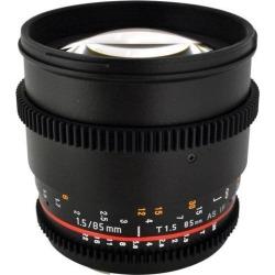Rokinon 85mm T1.5 Cine Lens for Nikon F