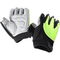 Unisex Outdoor Bike Riding Cycling Gloves Half Finger Summer Anti-slip Green S