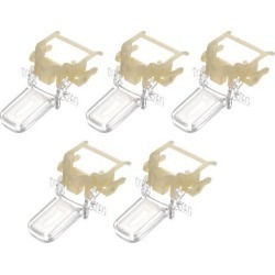 Electrical Kettle Thermostat, Manual Temperature Control Switch Clip Universal 5pcs