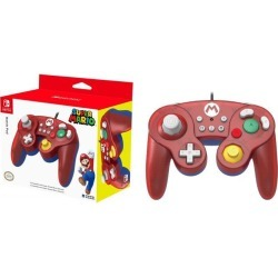 HORI Nintendo Switch Battle Pad (Mario) GameCube Style Controller - Nintendo Switch found on GamingScroll.com from Newegg Canada for $27.82