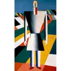 Posterazzi SAL261397 The Farmer in the Field Kazimir Malevich 1878-1935 Russian Russian State Museum St Petersburg Russia Print - 18 x 24 in.