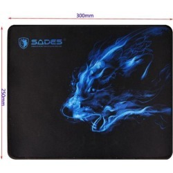 Cool Wolf Pattern Anti Slip Laptop Computer PC Mousepad Gaming Mouse Pad Mat for Optical Mouse