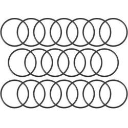 O-Rings Nitrile Rubber 16mm x 18mm x 1mm Seal Rings Sealing Gasket 20pcs