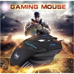 ZELOTES T80-Z 7200DPIWired Gaming Mouse 7 Buttons Optical Professional Mouse Gamer Computer Mice For Laptops Desktops Raton Ordenador X7