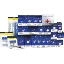 First Aid Kit, Refill, Paperboard Case, Emergency, 50 Person FIRST AID ONLY 90613