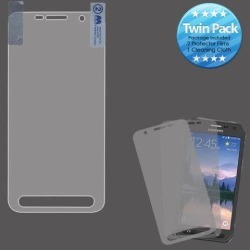 For Samsung Galaxy S7 Active G891 Screen Protector Twin Pack Phone Cover