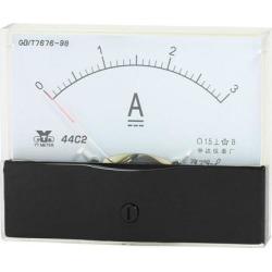 Unique Bargains Analog Panel Ammeter Gauge DC 0 - 3A Measuring Range 1.5 Accuracy 44C2