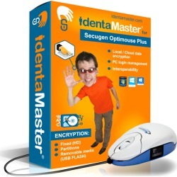 Biometric Security Software with SecuGen Optimouse Plus