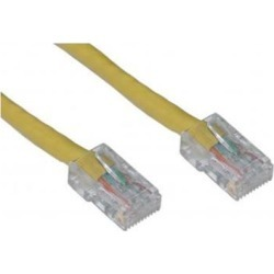 Offex Cat5e Ethernet Patch Cable Bootless 50 foot - Yellow