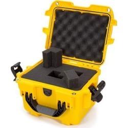 Nanuk 908 Waterproof Hard Case with Foam Insert - Yellow
