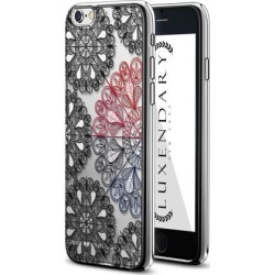 LUXENDARY MANDALA CIRCLES DESIGN CHROME SERIES CASE FOR IPHONE 6/6S PLUS