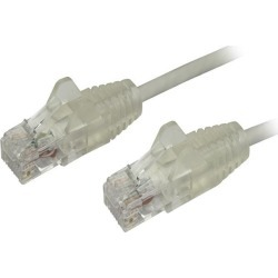 StarTech N6PAT6GRS Cat6 Ethernet Cable - 6 ft - Gray - Slim - Snagless RJ45 Cable - Network Cable - Ethernet Cord - Cat 6 Cable - 6ft