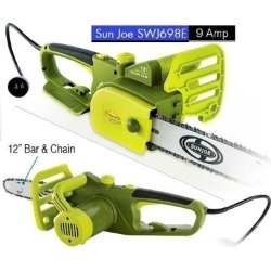 Sun Joe SWJ698E Electric Chain Saw 12 inch 9.0 Amp found on Bargain Bro India from Newegg for $69.99